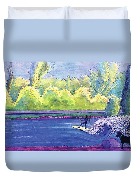 Surf Colorado Duvet Cover