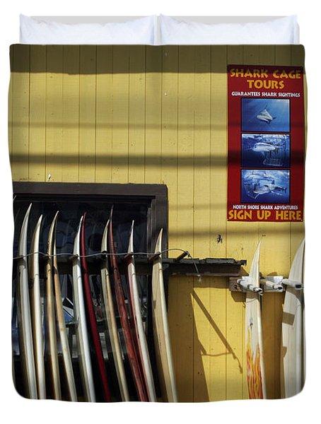 Surfboard Selection Duvet Cover