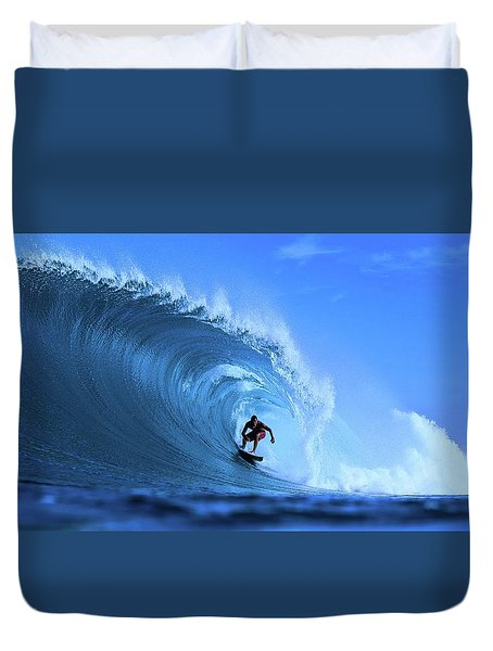 Surfer Boy Duvet Cover by Movie Poster Prints
