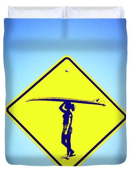Surfer Girl #2 Duvet Cover