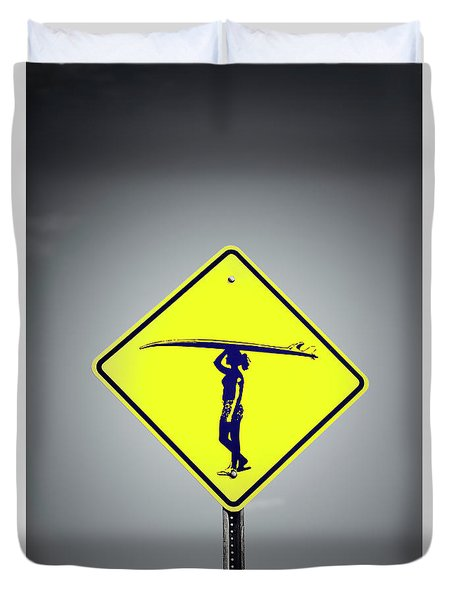 Surfer Girl #3 Duvet Cover