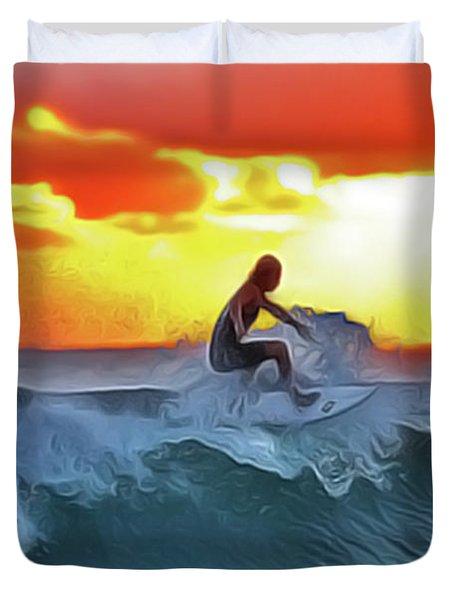 Surferking Duvet Cover