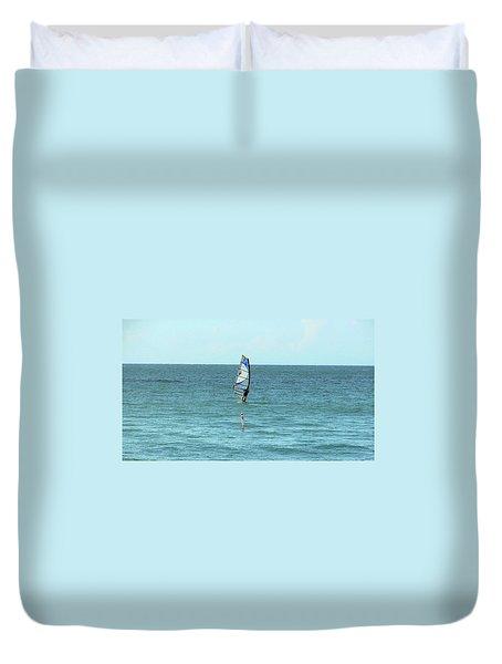 Surfing En Ocean Park Duvet Cover