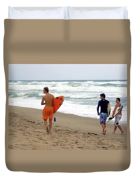 Surfs Up Boys Duvet Cover