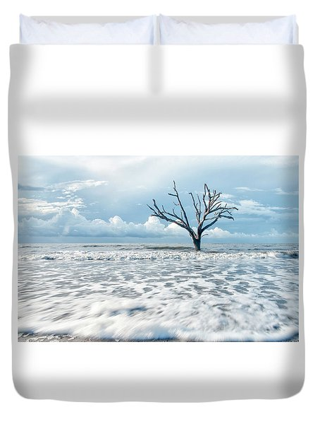 Surfside Tree Duvet Cover by Phyllis Peterson