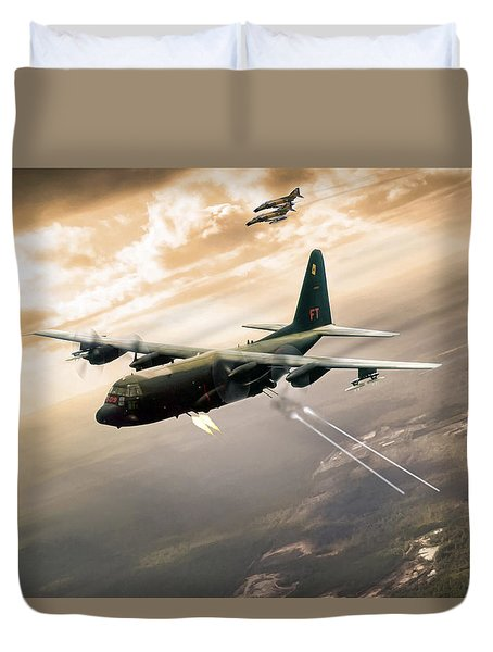 Surprise Package Duvet Cover by Peter Chilelli
