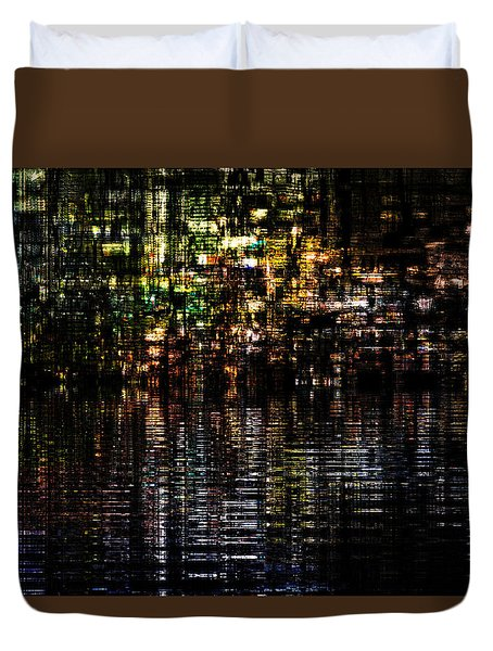 Surreal Evening Duvet Cover