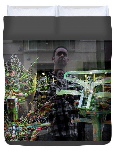Surreal Introspection Duvet Cover
