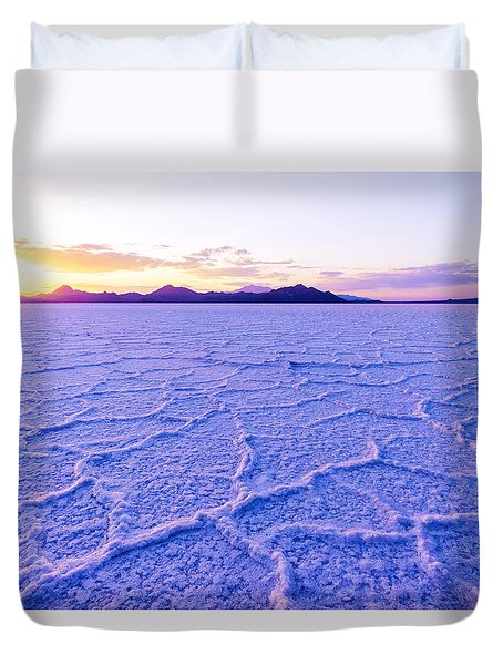 Surreal Salt Duvet Cover by Chad Dutson