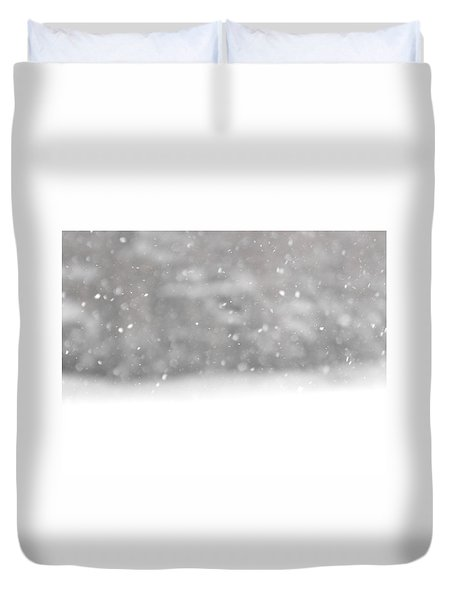 Surreal Snowdrops Duvet Cover