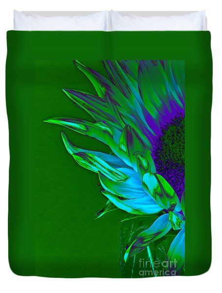 Surreal Sunflower  Duvet Cover