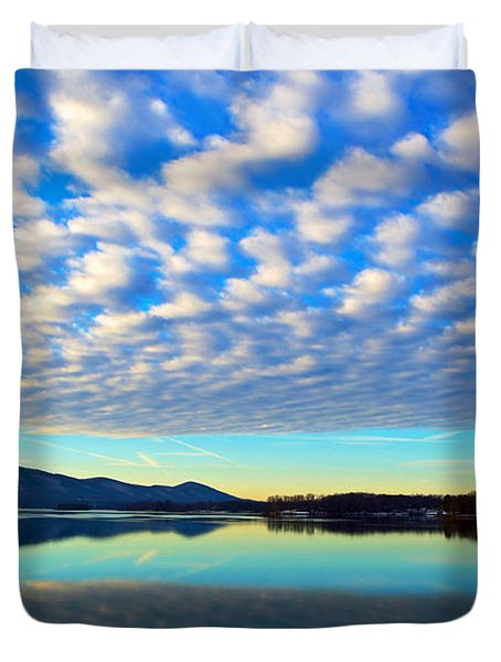 Surreal Sunrise Duvet Cover by The American Shutterbug Society