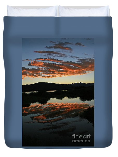 Surreal Sunrise Duvet Cover