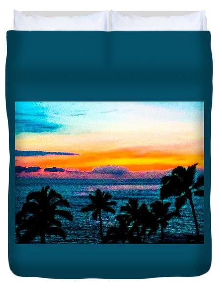 Surreal Sunset Duvet Cover