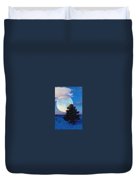 Surreal Winter Duvet Cover
