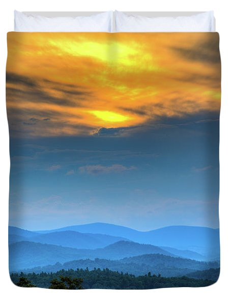 Surrender The Day Duvet Cover by Dale R Carlson