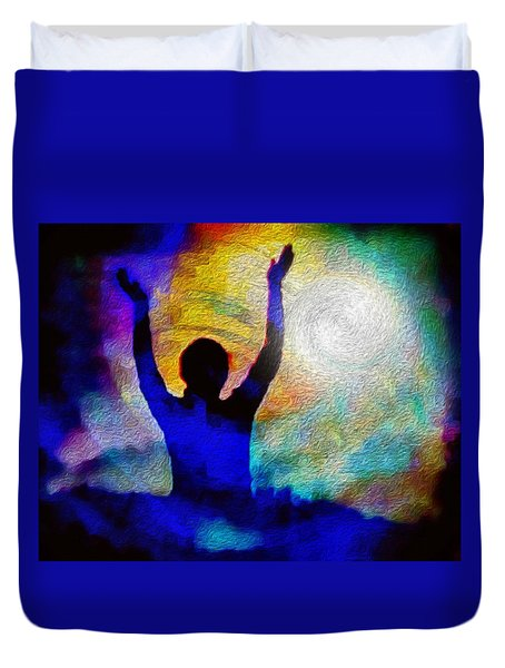 Surrender To Light Duvet Cover
