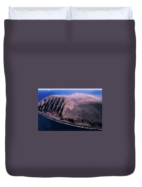 Surtsey In Iceland Duvet Cover