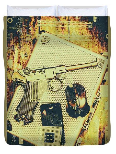 Surveillance State Duvet Cover