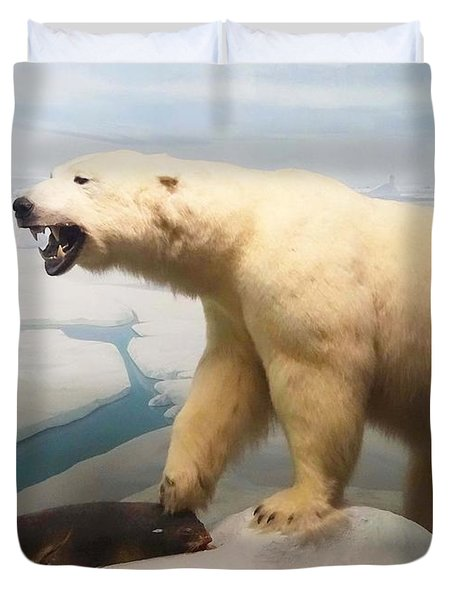 Survival Of The Fittest Duvet Cover