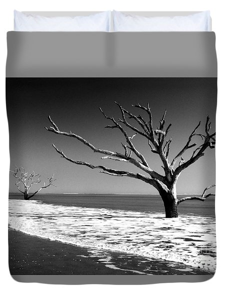 Duvet Cover featuring the photograph Survivor by Dana DiPasquale