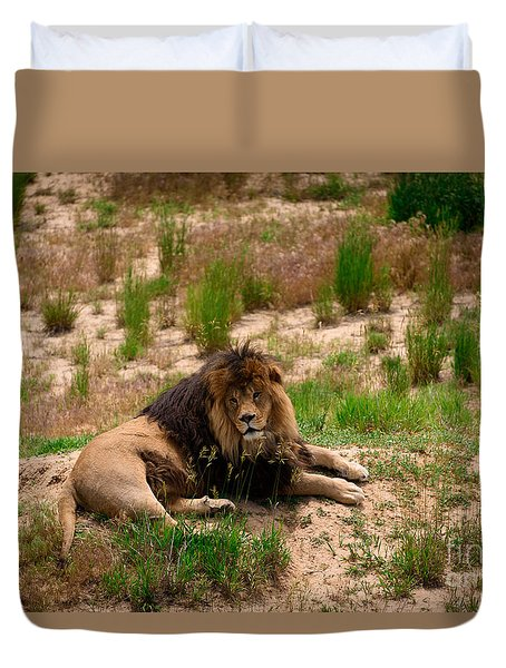 Survivor Duvet Cover