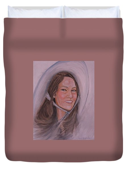 Susan Duvet Cover