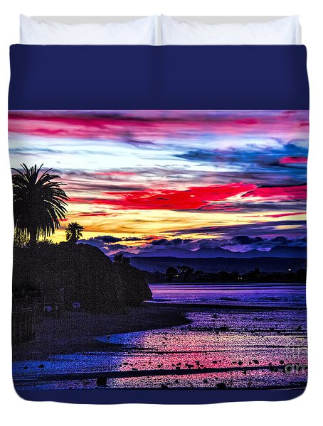 Suset Beach Duvet Cover