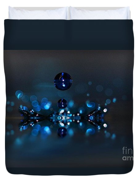 Suspended Abstract Duvet Cover