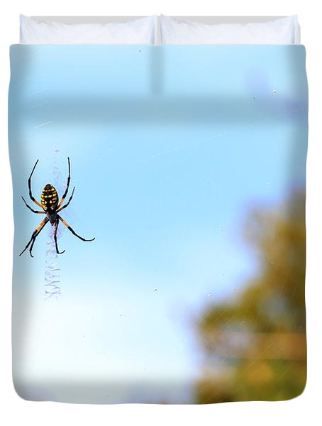 Suspended Spider Duvet Cover