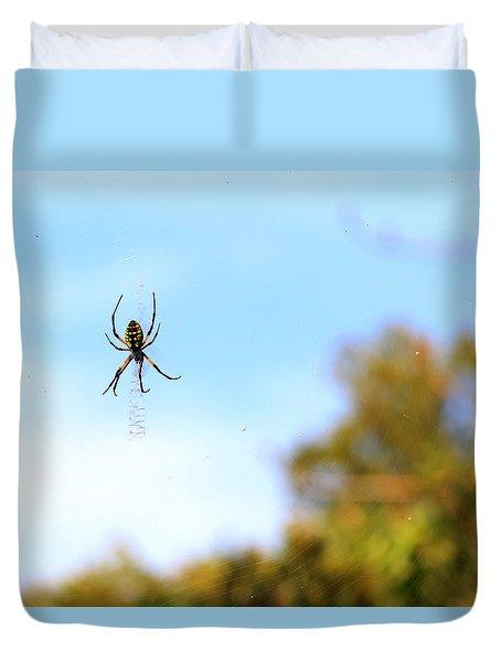 Suspended Spider Duvet Cover