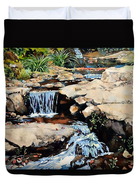 Susquehanna Falls Duvet Cover