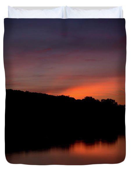 Suwannee Sundown Duvet Cover