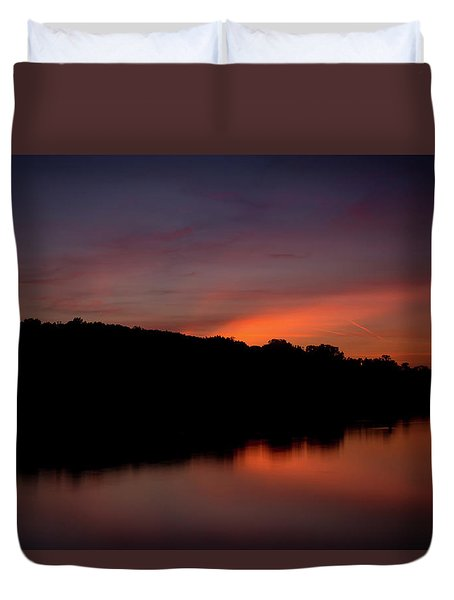Suwannee Sundown Duvet Cover