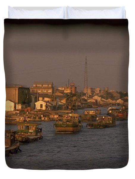 Suzhou Grand Canal Duvet Cover