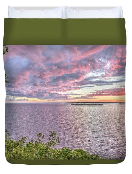 Sven's Bluff Sunset Duvet Cover