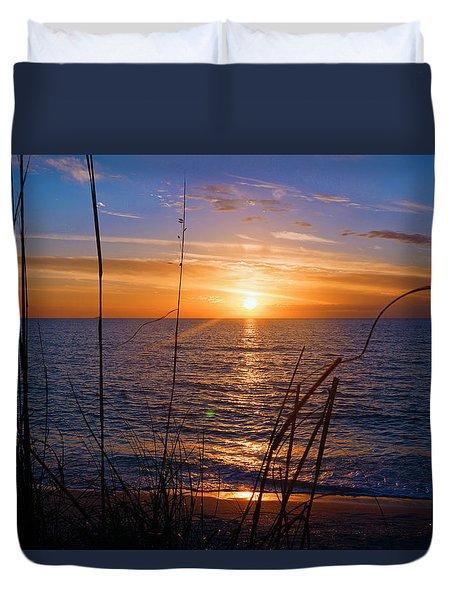 Sw Florida Sunset Duvet Cover