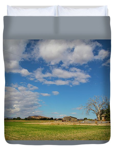 Sw Idaho Scenery Duvet Cover