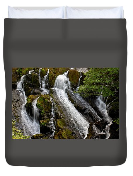 Swallow Falls Duvet Cover