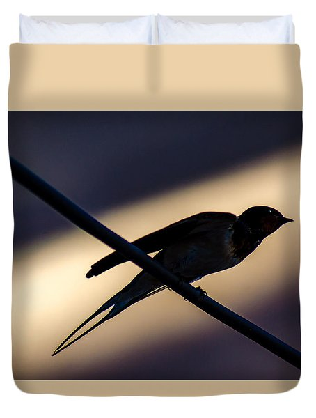 Swallow Speed Duvet Cover