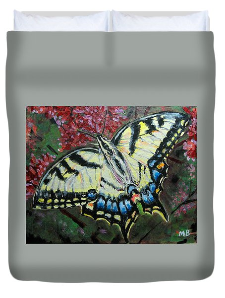 Swallow Tail Butterfly Duvet Cover