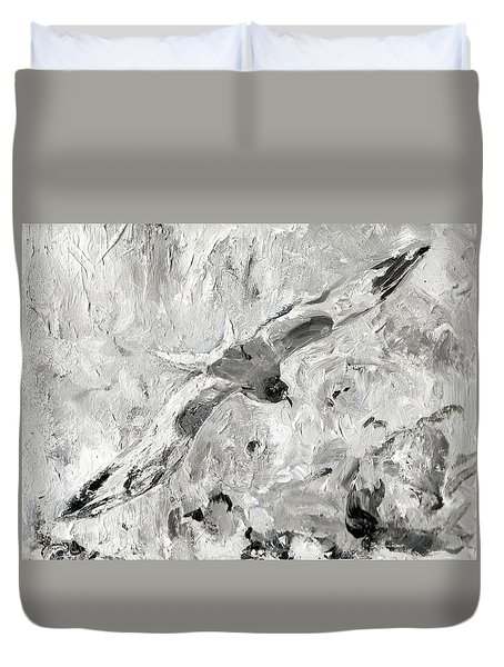 Swallow-tailed Gull Duvet Cover