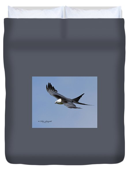 Swallow-tailed Kite Duvet Cover