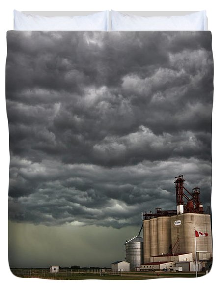 Swallowed By The Sky Duvet Cover