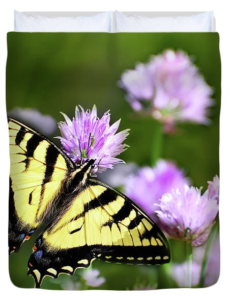 Swallowtail Butterfly Dream Duvet Cover