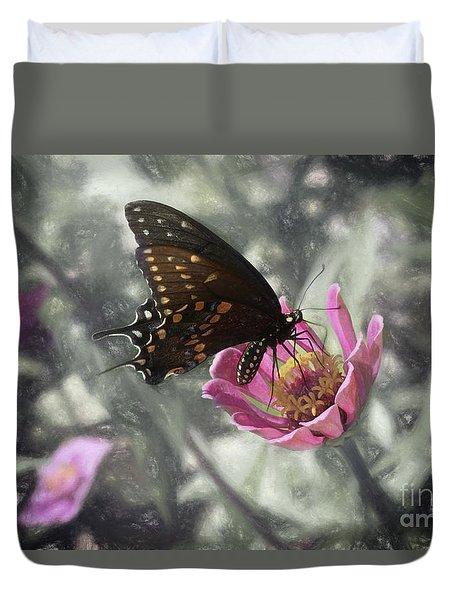 Swallowtail In A Fairytale Duvet Cover