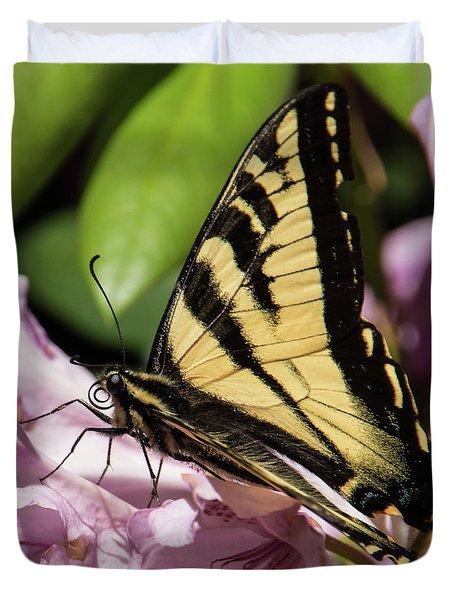Swallowtail Butterfly Duvet Cover by Marilyn Wilson