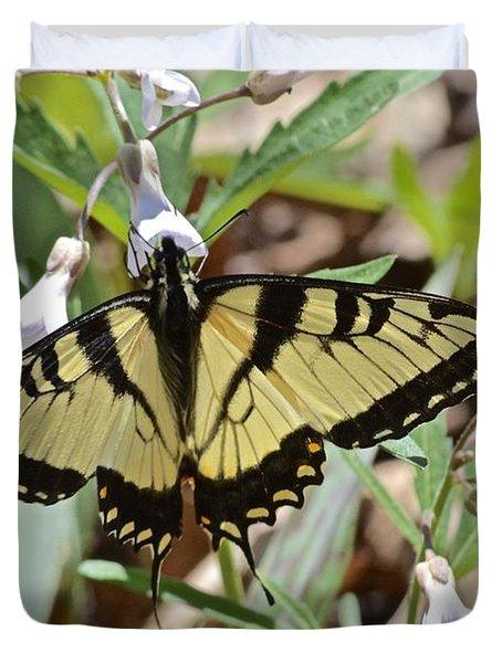 Swallowtail Duvet Cover by Tim Good