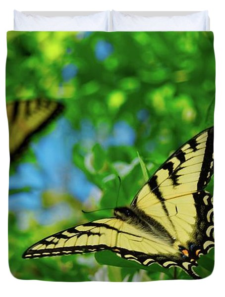 Swallowtails Duvet Cover