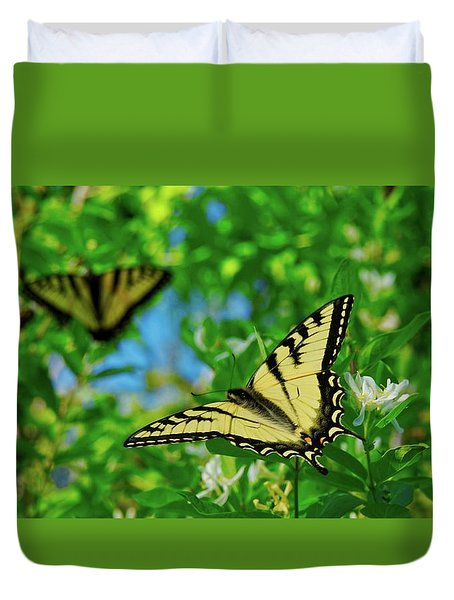 Swallowtails Duvet Cover